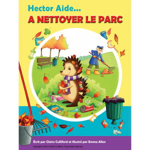 hector helps clean up the park french